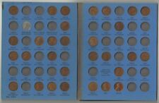 83 Pennies One Cent Coins 1937-1961 Ungraded Circulated Steel