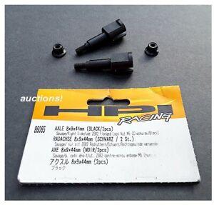 HPI Racing 86065 Axle 8x9x44mm Black 2pcs Savage Right Side use Z682 M5 Locknut