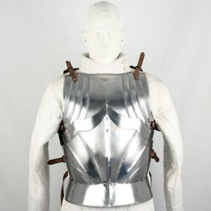 Medieval Warrior German Gothic 16G Breast Plate Body Armor