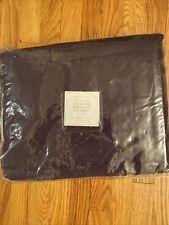 Rh Vintage Washed Diamond Matelasse King Coverlet Purple 14070628 New