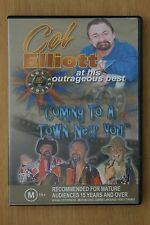 Col Elliott - Coming To A Town Near You (DVD, 2004)  - (D74)