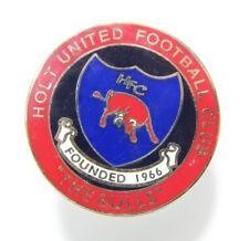 Holt United Football Club Enamel Badge - Non League Football Clubs -