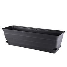 Eden ROMAN SELF WATERING TROUGH 60cm Outdoor & Indoor Use CHARCOAL *Aust Brand