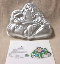 Wilton Toy Story BUZZ LIGHTYEAR Cake Pan Mold Tin 2105-8080 Pixar Disney VGC