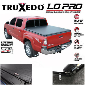 Truxedo LoPro QT Inside Rail Tonneau Cover 07-20 Tundra 5.6' Bed W/ Deck Rail