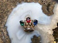 Trifari Crown Brooch