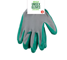 4X Gardening Gloves Non-slip Unisex Duareable Heavy duty NEW