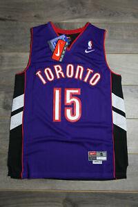 Vince Carter #15 Toronto Raptors Purple Throwback Retro Basketball Swingman New