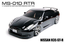 MST MS-01D 1/10 Scale 4WD RTR Electric Drift Car NISSAN R35 GT-R #531010