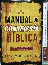 Manual de Consejeria Biblica by Mario Bertolini (2005, Paperback)