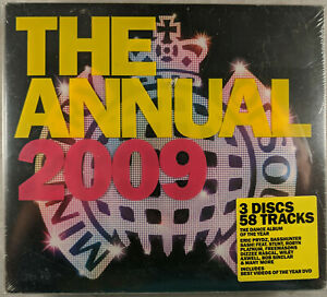 Ministry of sound  (The Annual 2009) *SEALED & COMPLETE*
