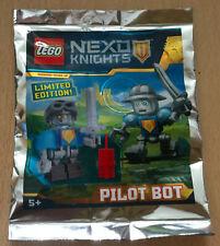 LEGO SET NINJAGO POLYBAG FIGURINE MINIFIG CHEVALIER NEXO KNIGHTS PILOT BOT ROBOT