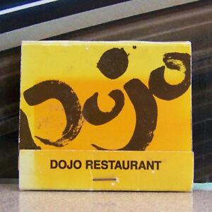Rare Vintage Matchbook L3 New York City Dojo Restaurant Japanese St Marks
