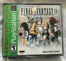 Final Fantasy Ix (Sony PlayStation 1, Ps1, green label, almost mint condition