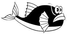 Fish vinyl car Decal / Sticker
