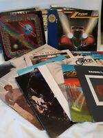 Vinyl CLASSIC ROCK Record Albums MOST 1ST PRESSING Beatles ELP Journey & MORE