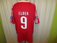 FC Bayern München Adidas Champions League Sieger Trikot 2001 + Nr.9 Elber Gr.XL
