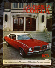 OLDSMOBILE OMEGA 1973 dealer brochure - French - Canadian Market - 1117