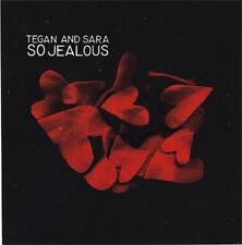 Tegan and Sara So Jealous RARE promo sticker '03