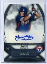 2010 Bowman Sterling Jake Skole Autograph Card