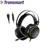 Tronsmart Glary Gaming Headset 7.1 Virtual Surround Sound Stereo Colorful LED