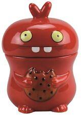 SÄCK & NOLTE UGLYDOLL Keksdose Cookie Jar BABO red rot Höhe ca. 24 cm - 02493