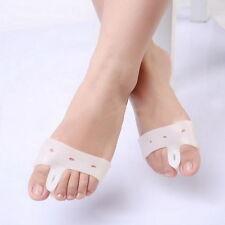 1 pair Silicone Sub Toe Thumb Hallux Valgus Correction Straightener Braces AS
