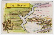 figurina SERIE ITALIA LAGHI PRINCIPALI LA FOLGORE N. 136 LAGO MAGGIORE NEW