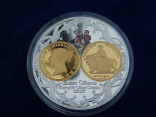 MEDAILLE / Medal - MONARQUES ENROPEENS - QUEEN VICTORIA 1839 - FDC / UNC