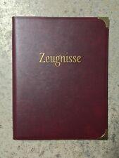 Zeugnismappe Schreibmappe Ringbuch Zeugnismappen .....