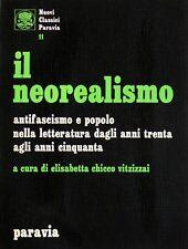 NEOREALISMO ANTIFASCISMO E POPOLO NELLA LETTERATURA ANNI TRENTA ANNI CINQUANTA