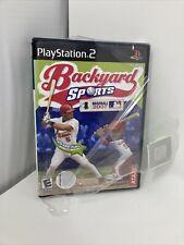 Backyard Sports Baseball 2007 (PlayStation 2, PS2)