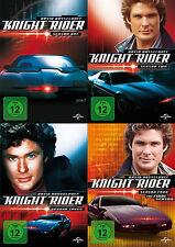 Knight Rider - Die komplette 1. + 2. + 3. + 4. Staffel               | DVD | 430
