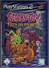 PS2 SCOOBY-DOO Fluch der folianten (2004), GB PAL , neuf et scellé d'origine