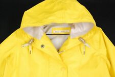 Woolrich Lightweight Parka Jacket Womens XS Bright Bold Yellow Full Zip Hiking