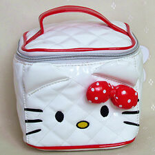 HelloKitty White Cosmetic Makeup Bag Case 2017  New Lady Girl Women Small  Size