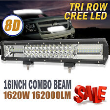 Automobiles & Motorcycles Ldrive 22 Inch 5d Led Work Light Bar 234w Tri-row Light Bar For Jeep Hummer Truck Headlight 4x4 4wd Atv Boat Car Offroad Led Bar