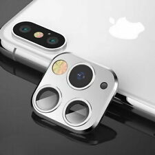 Metal Ring Case Protector For iPhone X XS MAX Change To 11 Pro Max Fake Camera