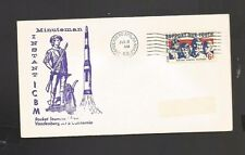 MINUTEMAN INSTANT ICBM ROCKET LAUNCHED JUL 8, 1968 VANDENBERG AFB, CA