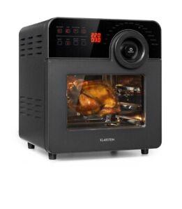Klarstein Hot air fryer 1700W 220 °C grill timer touchscreen stainless steel 14L