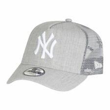 New Era Trucker Kinder Cap - HEATHER NY Yankees grau