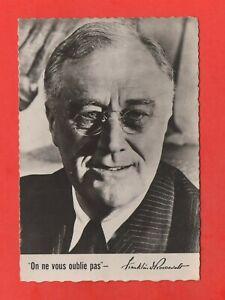 Franklin Roosevelt - Card Numbered Subscription National (K4673)