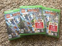 LEGO Ninjago Movie Video Game (Microsoft Xbox One, 2017) NEW