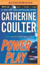 FBI Thriller: Power Play 18 by Catherine Coulter (2014, MP3 CD, Unabridged)