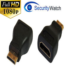 HDMI Female to Mini HDMI Type C Male Gold Plated Adapter Converter #9969