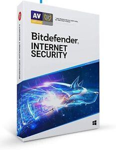 Bitdefender Antivirus Internet Security 2021 / 1 Appareil / 1 An