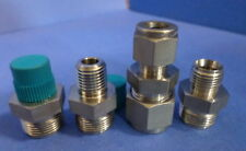 SWAGELOK MIXED LOT OF COMPRESSION FITTINGS NNB, LOT OF 4