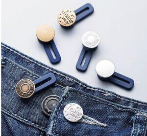 Waist Band Extender Button Jeans Trouser Expander Pants Suit Cuff Maternity K2