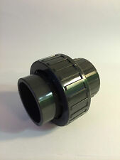25mm UNION COUPLER CONNECTOR SOLVENT WELD PVC U MARINE SUMP REEF CORAL SAFE