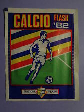 BUSTINA FIGURINE STICKERS CALCIO FLASH 82 1982 PIENA FULL NEW- FIO